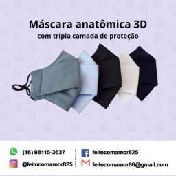 Máscara Anatômica 3D - Tripla camada