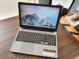 Notebook Acer - Core i7 com Placa de video Nvidia - Tela 15,6 - Lindo Notebook