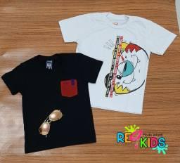 Kit 2 Camisas Infantil