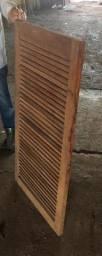Veneziana de cedro 1,20x0,50 cm