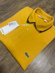 Camisa polo Lacoste Amarelo G