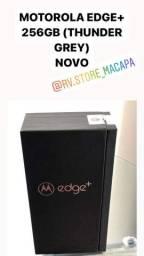 MOTOROLA EDGE+ PLUS 256GB, 12GB DE RAM, NOVO ACEITO CARTÃO