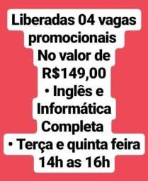 Inglês + Informática