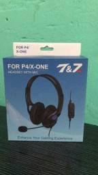 For P4 Gaming Headset Xbx One Ps4 Envio Imediato