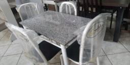 Mesa 4 cadeira com entrega e montagem em Ribeirão preto
