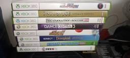 8 jogos originais Xbox 360