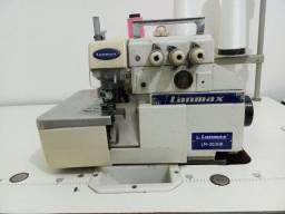 Máquina Overlock lanmax e máquina reta brother a venda.
