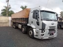 Ford cargo 2429, 8x2, bitruck, cabine leito, carroceria de madeira em excelente estado