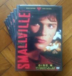 Smallville 2a temporada completa em DVD