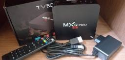 Conversor smart tv box mxq pro 32gb 4ram Android 10.1