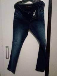 Calça jeans: Rason fem: Tam 42.