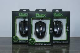 Mouse com fio Plugx