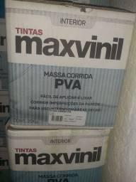 Queima de estoque  - massa pva 20kg maxvinil na Cuiabá tintas, para retirar na loja