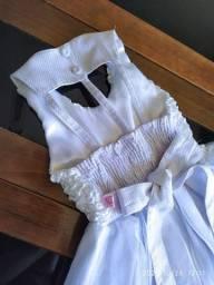 Vestido de festa branco (infantil), daminha, crisma, primeira comunhão, batizado