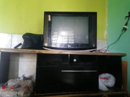 Vendo racke com tv e antena digital