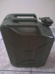 Galão de combustível de aço 20 litros - semi novo