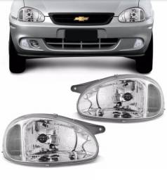 Farol Liso Corsa Classic Sedan 2000 2001 2002 2003 2004 2005 2006 2007 2008 2009 2010