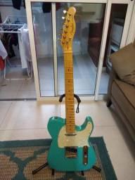 Guitarra Telescaster azul