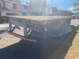 Carreta pino contêiner toco e truck assoalho de chapa