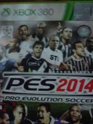 Jogo Pes2014 ( Xbox 360 Original )