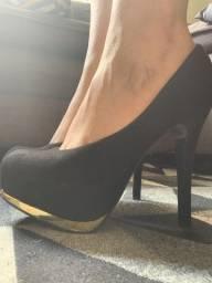 Sapato preto 36