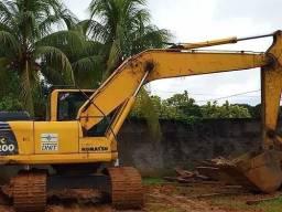 Escavadeira Hidraulica Pc200<br>- 2012