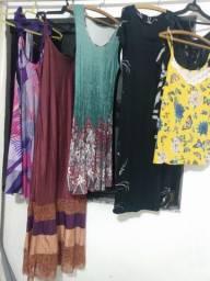 Lote de roupas femininas tamanho G
