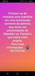 Motoboy delivery