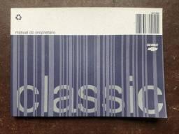 Manual de instruções do Corsa Classic sedan