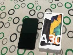 A30 64GB com todos os acessórios, aceito cartão de credito