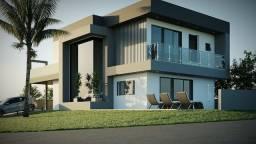 REF 2627 Sobrado em construção, 3 suítes, piscina, área gourmet, Imobiliária Paletó