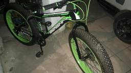 Bicicleta, pneu balão