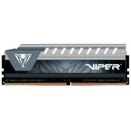 Memória de 4GB 1600MHZ, DDR3, PATRIOT VIPER, para PC, Novo, lacrado de Fábrica