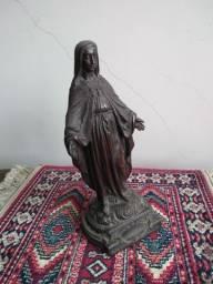 Estátua Nossa Senhora das Graças em metal ~ Anos 20