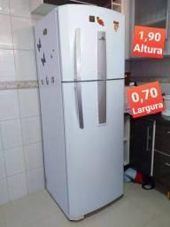 Freezer Geladeira Foss Free 445 Litros Duplex Branca 2 portas grande