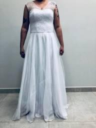 Vestido de noiva para prévias