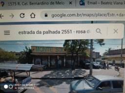 Nova Iguaçu vendo lojão Est.Palhada com 1500 mts2 com deposito, patio, 2 aptos etc