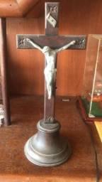 Crucifixo em madeira antiguidade