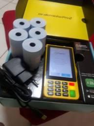 Máquina de cartão de crédito PagSeguro moderninha Pro 2