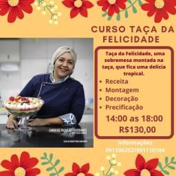 Curso Taça da Felicidade Natalina R$130