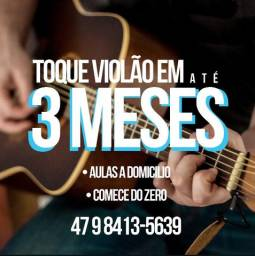 Toque violão