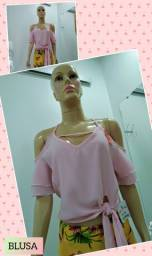 Blusa rosa claro tamanho M