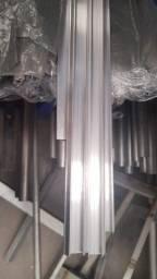 200m de Perfil de Alumínio e 200m de Mola de Aço