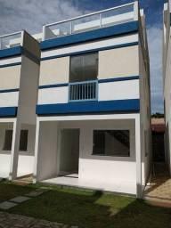 Casa Triplex 3 suítes em condomínio nova em Itapuã !!