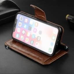 Capa/Carteira iPhone X, XS