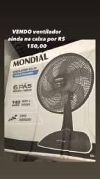 Vendo ventilador NOVO- na caixa