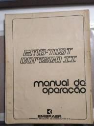 Manual de Operação do Corisco Turbo EMB-711ST