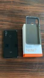 Em 10x Smartphone impecável Xiaomi Redmi Note 7