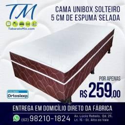 Mega Promoção! Unibox Solteiro a partir de 229$! 6x Sem Juros