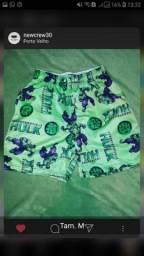 Shorts mauricinhos